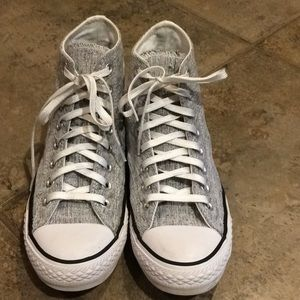 Converse All Star Sparkle High Top Sneakers Size 9